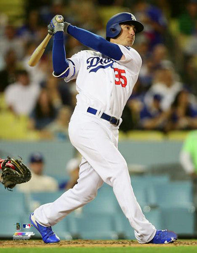 "Cody Bellinger ""Big Bomb"" Los Angeles Dodgers Premium Poster Print - Photofile 16x20"