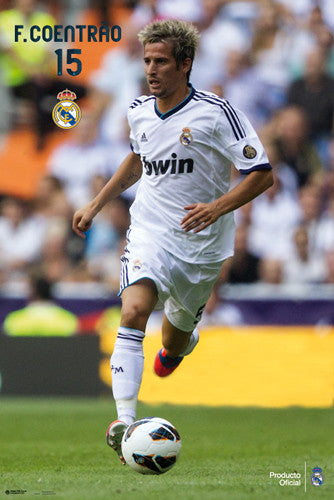 "Fabio Coentrao ""Superstar"" Real Madrid Poster (2012/13) - G.E. (Spain)"
