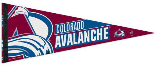 Colorado Avalanche NHL Hockey Premium Felt Pennant - Wincraft Inc.