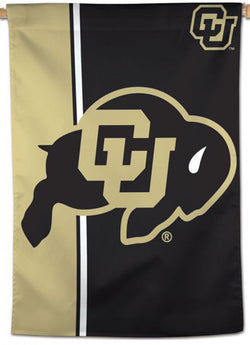 University of Colorado Buffaloes Official NCAA Team Logo Style Premium 28x40 Wall Banner - Wincraft Inc.
