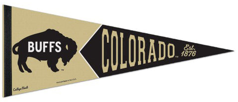 Colorado Buffaloes NCAA College Vault 1960s-Buffs-Style Premium Felt Collector's Pennant - Wincraft Inc.