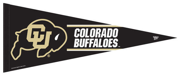 Colorado Buffaloes NCAA Team Logo-Style Premium Felt Collector's Pennant - Wincraft Inc.
