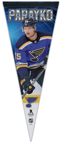 Colton Parayko St. Louis Blues Official NHL Hockey Premium Felt Collector's Pennant - Wincraft 2018