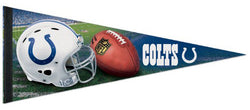 Indianapolis Colts Official NFL Helmet Logo Premium Felt Collector's Pennant - Wincraft