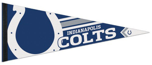 Indianapolis Colts NFL Football Official Logo-Style Premium Felt Pennant - Wincraft Inc.
