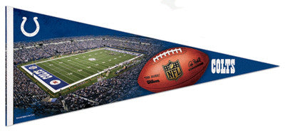 Indianapolis Colts Gameday EXTRA-LARGE Premium Felt Pennant - Wincraft