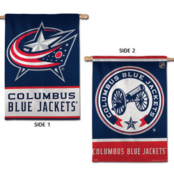 Columbus Blue Jackets Official NHL Hockey 2-Sided Vertical Flag Wall Banner - Wincraft Inc.