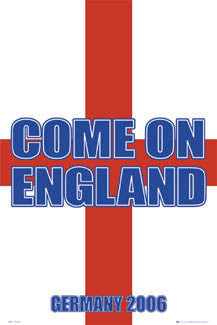 """Come On England"" - GB Posters 2006"