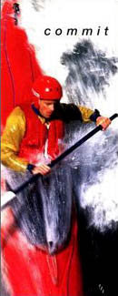 """Commit"" Kayaking - Front Line 1997 (12x36)"