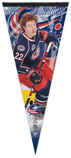 Mike Commodore Columbus Blue Jackets EXTRA-LARGE Premium Felt Pennant