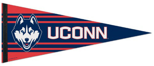University of Connecticut UCONN Huskies NCAA Sports Team Logo Premium Felt Pennant - Wincraft Inc.