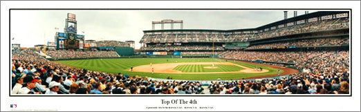 "Colorado Rockies Coors Field ""Top of the 4th"" Panoramic Poster Print - Everlasting Images"