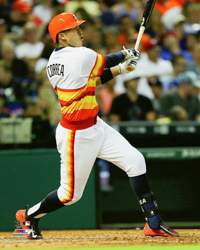 "Carlos Correa ""Phenom"" Houston Astros Baseball Premium Poster Print - Photofile 16x20"