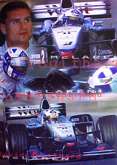 "David Coulthard ""McLaren 2000"" - UK 2000"