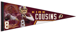 "Kirk Cousins ""You Like That!!"" Washington Redskins Premium Felt Collector's Pennant - Wincraft Inc."