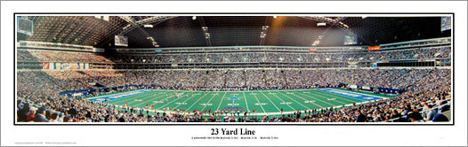 Dallas Cowboys Texas Stadium Gameday 2001 Panoramic Poster Print - Everlasting Images