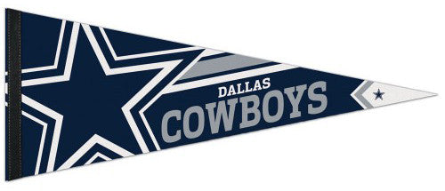 Dallas Cowboys Official NFL Logo-Style Premium Felt Collector's Pennant - Wincraft