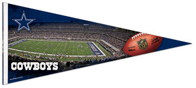 Dallas Cowboys Gameday EXTRA-LARGE Premium Felt Pennant - Wincraft
