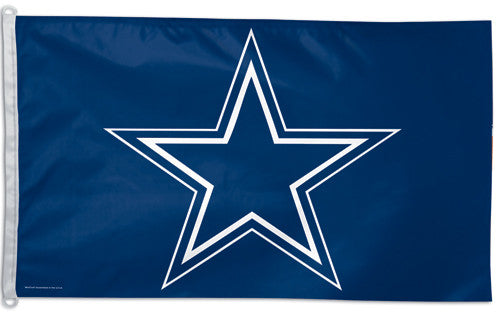 Dallas Cowboys Official NFL Football 3'x5' Flag - Wincraft Inc.