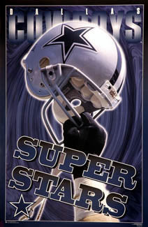 "Dallas Cowboys ""Super Stars"" - Costacos Brothers 1996"