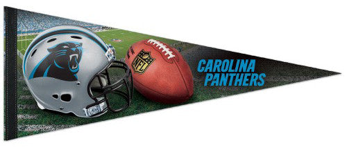 Carolina Panthers Official NFL Football Team Premium Felt Pennant - Wincraft Inc.