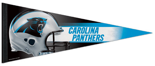 Carolina Panthers Official NFL Helmet Logo Premium Felt Collector's Pennant - Wincraft