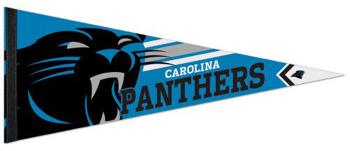 Carolina Panthers NFL Football Official Logo-Style Premium Felt Pennant - Wincraft Inc.