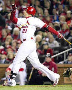 "Allen Craig ""Clutch"" (2011 WS Game 7) St. Louis Cardinals Premium Poster - Photofile 16x20"