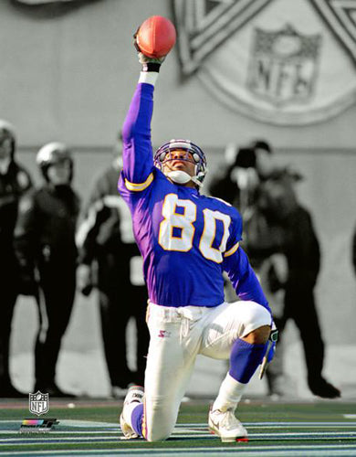 "Cris Carter ""Gratitude"" Minnesota Vikings NFL Football Classic Premium Poster Print - Photofile Inc."