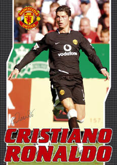 "Cristiano Ronaldo ""Road Warrior"" - GB Posters 2003"
