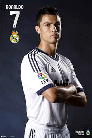 "Cristiano Ronaldo ""Ready for Action"" Real Madrid Poster - GPE (Spain)"