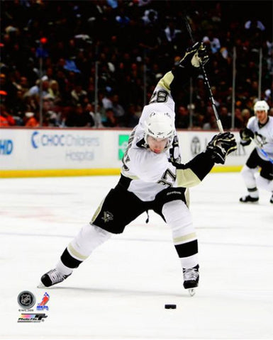 "Sidney Crosby ""Blast"" (2010) Pittsburgh Penguins Premium Poster Print - Photofile 16x20"
