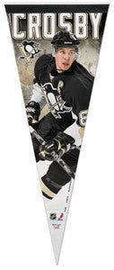"Sidney Crosby ""Action Star"" Premium Collector's Pennant (LE /2011) - Wincraft Inc."