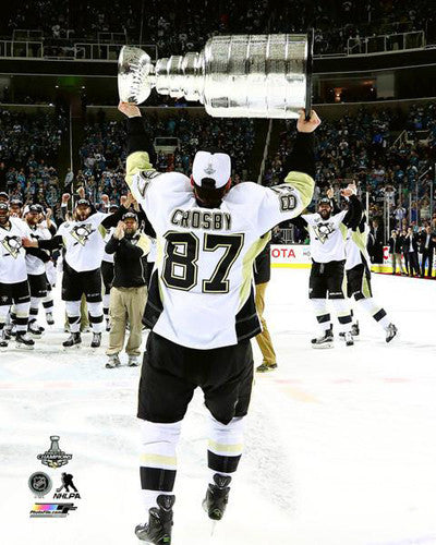 "Sidney Crosby ""Stanley's Back!"" Pittsburgh Penguins 2016 Premium Poster - Photofile"