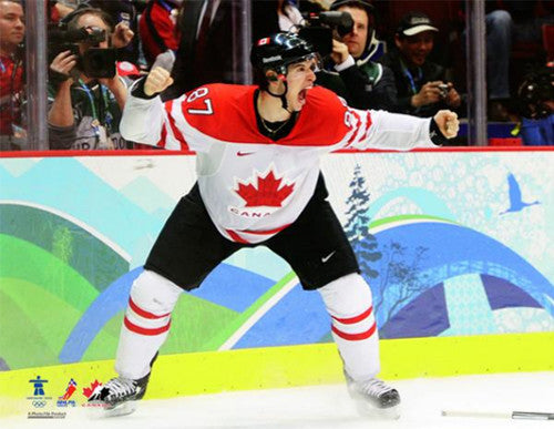 "Sidney Crosby ""The Moment"" Team Canada 2010 Winning Goal Premium Poster Print - Photofile Inc."