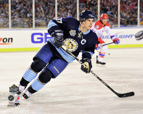 "Sidney Crosby ""Winter Classic 2011"" - Photofile 16x20"