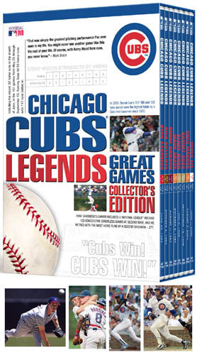 DVD SET: Chicago Cubs Legends Collector's Edition 8-Disc Set