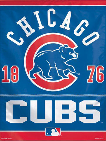 "Chicago Cubs ""1876"" Premium MLB Collector's Wall Banner - Wincraft Inc."