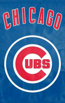 Chicago Cubs Official Team Applique Banner - Party Animal