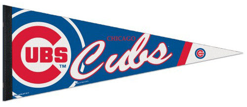 Chicago Cubs Official MLB Logo-Style Premium Felt Pennant - Wincraft Inc.
