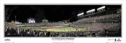 "Chicago Cubs ""World Series Majesty 2016"" Panoramic Poster Print - Everlasting Images"