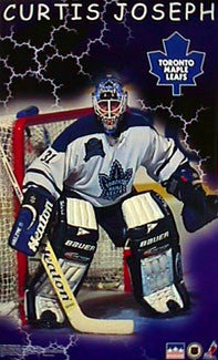 "Curtis Joseph ""Classic"" Toronto Maple Leafs Poster - Starline Inc. 1998"