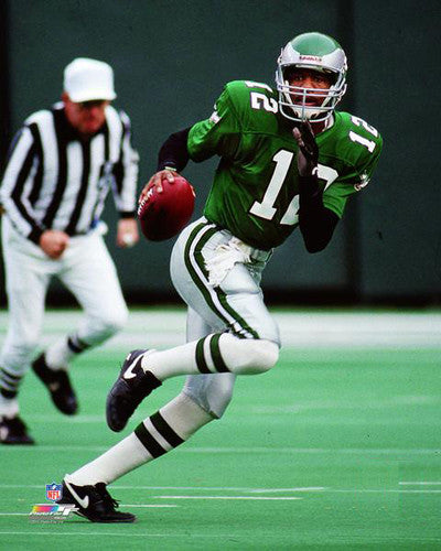 "Randall Cunningham ""Roll Out"" (1990) Philadelphia Eagles Premium Poster Print - Photofile Inc."