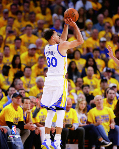 "Stephen Curry ""Jumper"" Golden State Warriors Premium NBA Poster Print - Photofile 16x20"
