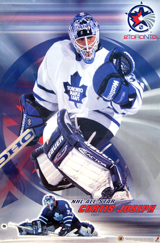 Curtis Joseph 2000 NHL All-Star Goalie Toronto Maple Leafs Poster - Trends International