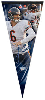 "Jay Cutler ""Big-Time"" EXTRA-LARGE Premium Felt Pennant - Wincraft"