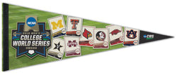 NCAA College World Series 2019 Official 8-Team Premium Felt Collector's Pennant - Wincraft Inc.