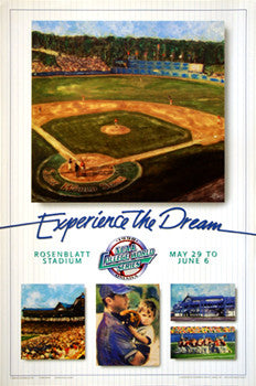 NCAA College World Series 1998 Official Event Poster - Action Images