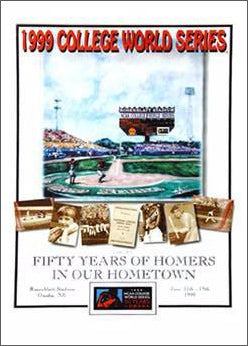 NCAA College World Series 1999 Official Event Poster - Action Images