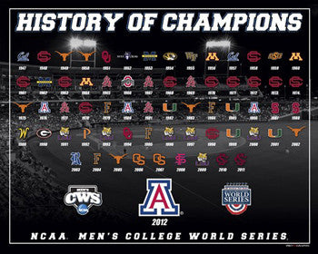"College World Series ""66 Years of Champions"" Premium Poster Print - ProGraphs Inc."